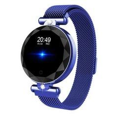 """Смарт-часы SMARTERRA SmartLife Vega, 1.08"""", синий / синий [smlvegab]"""