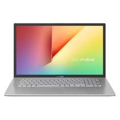 "Ноутбук ASUS VivoBook D712DA-AU116T, 17.3"", IPS, AMD Ryzen 7 3700U 2.3ГГц, 8Гб, 1000Гб, AMD Radeon Rx Vega 10, Windows 10, 90NB0PI1-M01710, серебристый"