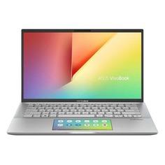 """Ноутбук ASUS VivoBook S432FL-AM096T, 14"""", Intel Core i7 10510U 1.8ГГц, 8Гб, 512Гб SSD, nVidia GeForce MX250 - 2048 Мб, Windows 10, 90NB0ML2-M01770, серебристый"""