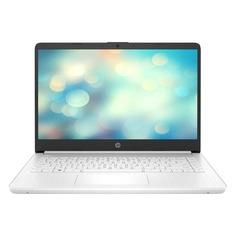 """Ноутбук HP 14s-dq0031ur, 14"""", IPS, Intel Pentium Gold 4417U 2.3ГГц, 4ГБ, 128ГБ SSD, Intel HD Graphics 610, Windows 10, 9RK34EA, белый"""