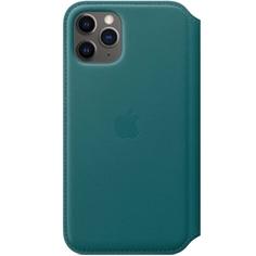 Чехол Apple iPhone 11 Pro Leather Folio Peacock