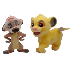 Фигурка Banpresto Fluffy Puffy: Lion King Simba & Timon