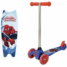 Трехколесный самокат 1Toy Spider-Man