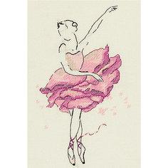 """Набор для вышивания Panna """"Балерина: Роза"""""""