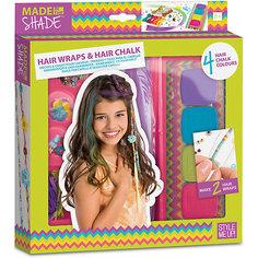 Набор для создания украшений для волос Style Me Up, c радужными мелками