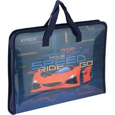 Папка-портфель Kite Fast Cars, А4