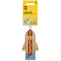 Брелок-фонарик для ключей LEGO Hot Dog Man: Человек-Хот-дог