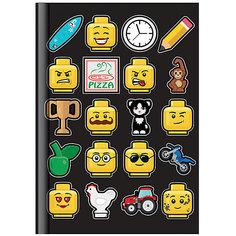 Книга для записей LEGO, линейка, 96 листов