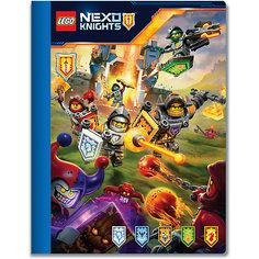 Тетрадь 100 листов, линейка, LEGO