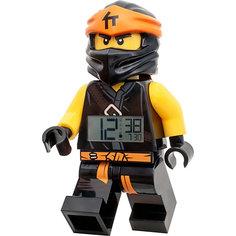 "Будильник LEGO Ninjago ""Минифигура Коул"", свет/звук"