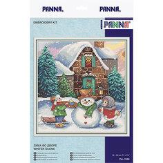 """Набор для вышивания Panna """"Зима во дворе"""""""
