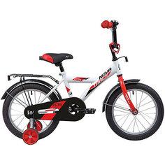 Велосипед Novatrack Astra 12 дюймов, белый
