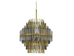 Дизайнерские люстры и светильники emile round 800 (mak-interior) золотой 80x55x50 см.