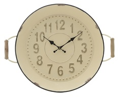 Часы nazario (to4rooms) бежевый 52x43x9 см.