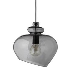 Лампа подвесная grace (frandsen) серый 34 см.