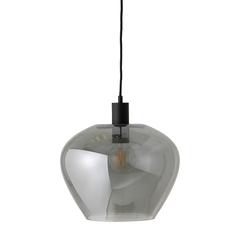 Лампа подвесная кyoto d32 см, стекло (frandsen) серый 25 см.