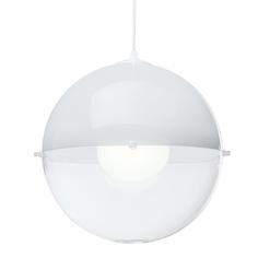 Лампа подвесная оrion белая (koziol) белый 30.0 см.