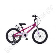 """Велосипед royal baby freestyle 14"""", стальная рама rb14b-6 фуксия"""