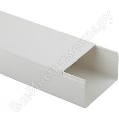 Кабель-канал эра 100x60 белый, 2 метра б0031143