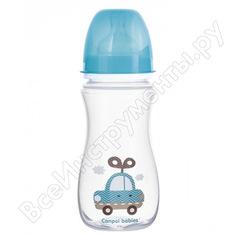 Антиколиковая бутылочка canpol babies pp easystart 300 мл, 12+toys, цвет: голубой 250989201