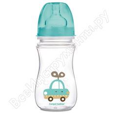 Антиколиковая бутылочка canpol babies pp easystart 240 мл, 3+ toys, цвет: голубой 250989239