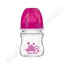 Антиколиковая бутылочка canpol babies pp easystart, 120 мл, 3+ красный 250930088