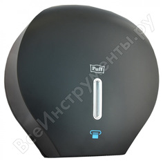 Диспенсер для туалетной бумаги puff 7120bl, пластиковый, черный 1402.997