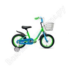 Велосипед forward barrio 14, 2018-2019, зеленый rbkw9lnf1013