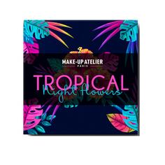 Make-up Atelier Paris, Набор средств для макияжа Tropical Night Flowers