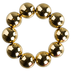 IRISK, Набор магнитных шариков для дизайна ногтей №2, золото
