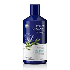 Avalon Organics, Кондиционер Biotin B-Complex Thickening, 397 г