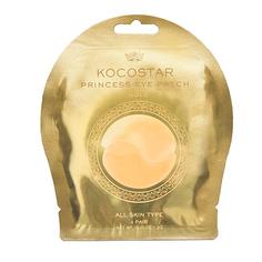 Kocostar, Гидрогелевые патчи для глаз Princess, золотые, 1 пара