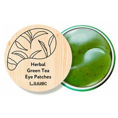 LSanic, Патчи для глаз с экстрактом зеленого чая, 60 шт. L.Sanic