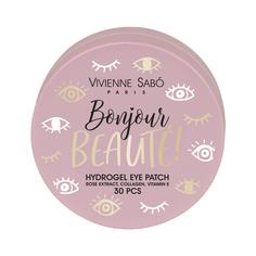 Vivienne Sabo, Патчи для глаз Bonjour beaute, 30 шт.