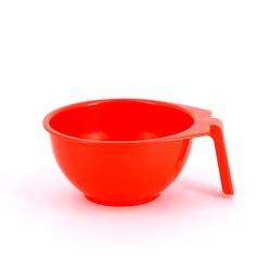 Dewal, Чаша для краски, с ручкой, красная, 400 мл