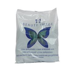 Beauty Image, Горячий воск в дисках «Стандарт», зеленый, 1000 г