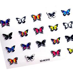 AnnaTkacheva,3D-стикерCL№010 «Бабочки»