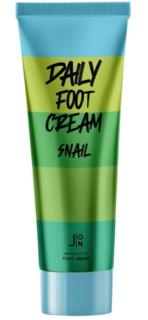 J:ON, Крем для ног c муцином улитки Daily Foot Cream Snail, 100 мл