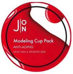 J:ON, Антивозрастная альгинатная маска с экстрактом женьшеня Anti-Aging Modeling Pack, 18 г