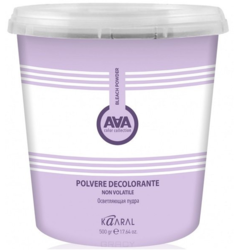 Kaaral, Осветляющая пудра AAA Polvere Decolorante Non Volatile, 500 гр