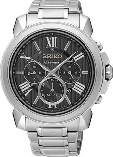 Японские мужские часы в коллекции Premier Мужские часы Seiko SSC597P1