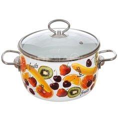 Кастрюля эмалированная Vitross Fruits 1SC205S, 4 л