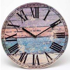 Часы настенные пластиковые 164-38001, 29.3х4 см