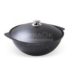 Казан с антипригарным покрытием Kukmara к45а с крышкой, 4.5 л