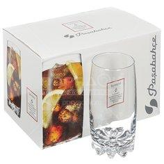 Стакан стеклянный Pasabahce Sylvana 42812, 6 шт, 375 мл