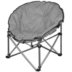 Кресло складное Гриб YTMC010L-19 темно-серое, 82х82х72 см