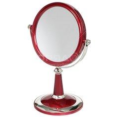 Зеркало настольное на подставке Y3-897 I.K круглое, 20х28.5 см
