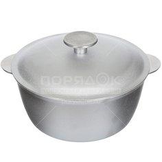 Казан алюминиевый Биол К0200 с крышкой, 2 л