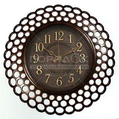 Часы настенные пластиковые L1363, 40.6х40.6х4.3 см