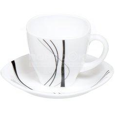 Сервиз чайный из стеклокерамики, 12 предметов, Tokyo FKFB-210-K1306-2 Daniks
